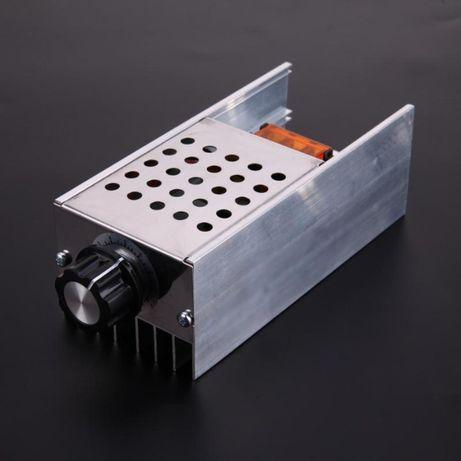 Мощный регулятор напряжения,мощности,Диммер 0-220V,6 кВт. В корпусе