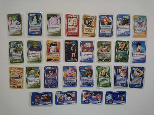 Karty Chio Dragon Ball Z oraz GT w stanie idealnym
