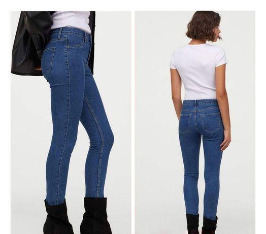 Джинси з високою талією. skinny regular ankle jeans