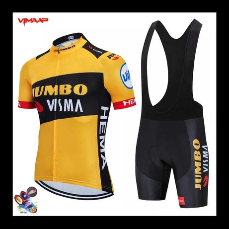 Equipamento ciclismo Jumbo Visma