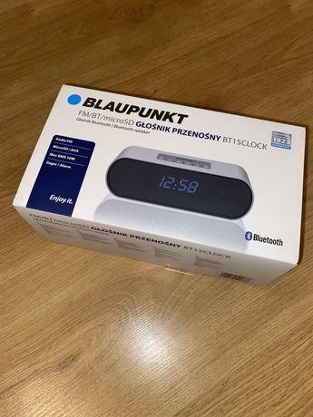 Głośnik bezprzewodowy bluetooth Blaupunkt BT15 budzik radio NOWY