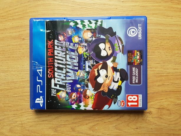 South Park Fractured but whole Pl Ps4 PlayStation  Po polsku