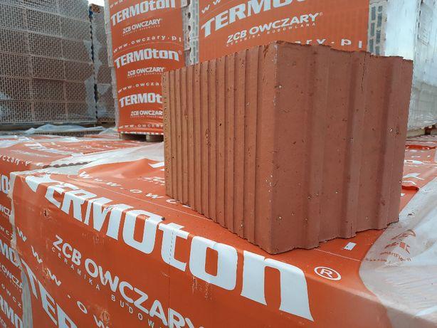 Pustak ceramiczny TERMOTON 25 P+W kl.15 transport // ZOBACZ