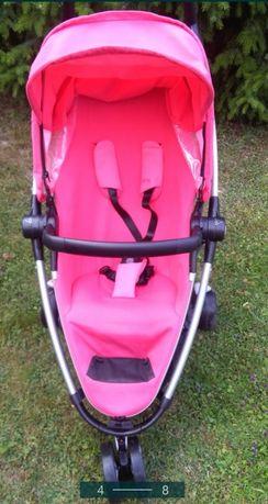 Wózek quinny zapp różowy