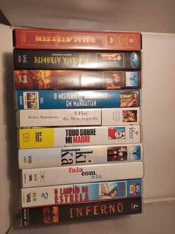 Lote 10 filmes diversos VHS