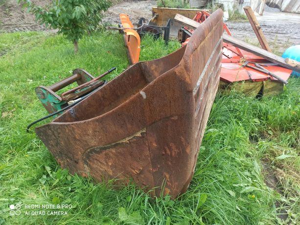 Łyżka hydrauliczna skosowana szer. 150cm poj. 1.5m3 Lenhoof MS 21