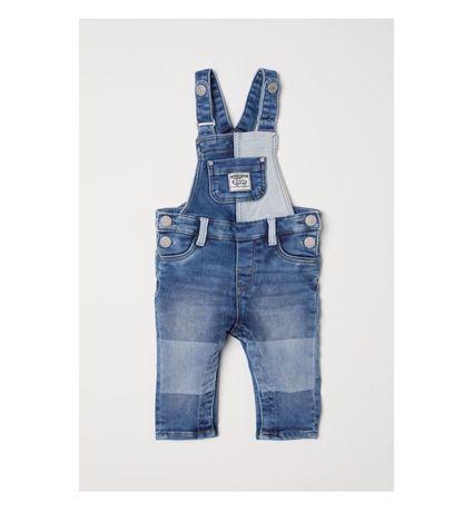 Полукомбинезон комбинезон джинсовый джинсы H&M джинси напівкомбінезон