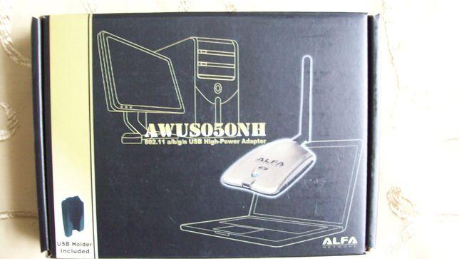 Adapter USB HighPower 2,0 AWUS050NH firmy Alfa