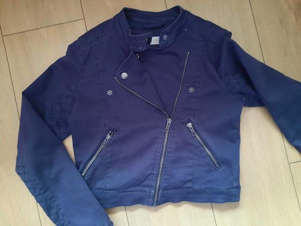 Krótka kurtka ramoneska H&M r. 152