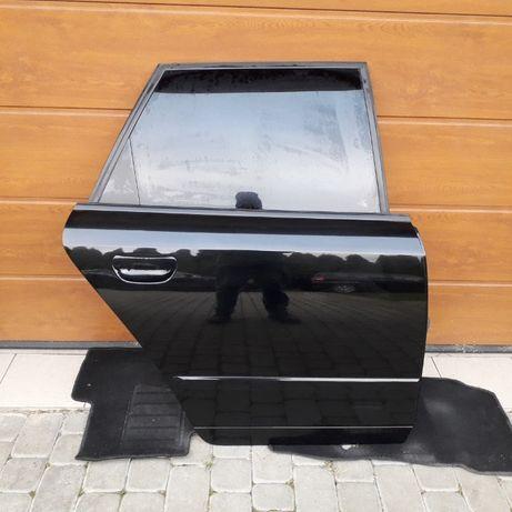 Kompletne Drzwi Czarne AUDI A4 B6*Oryginalny Lakier*Ładne