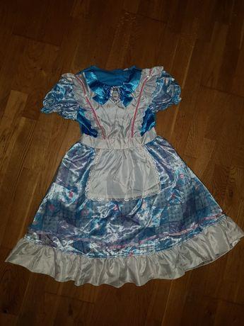 """платье из """"Алисы в стране чудес""""/Alice in Wonderland /8-9 лет"""