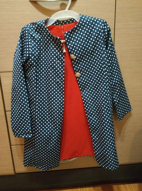 Набір плаття та піджак 134 см