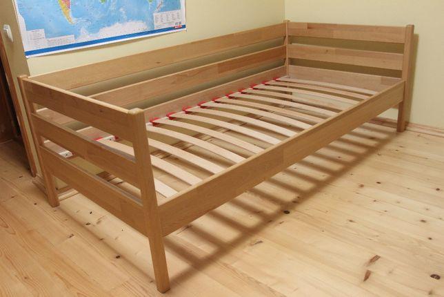 Дитяче ліжко .Виготовлене з натурального бука .Розміри 190 на 90.