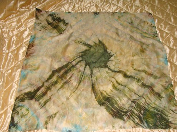 батик Метеорит оригинал шелк платок косынка