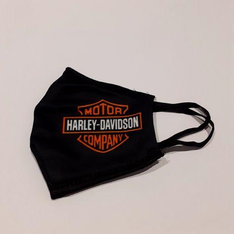 Maska maseczka dwuwarstwowa harley-davidson