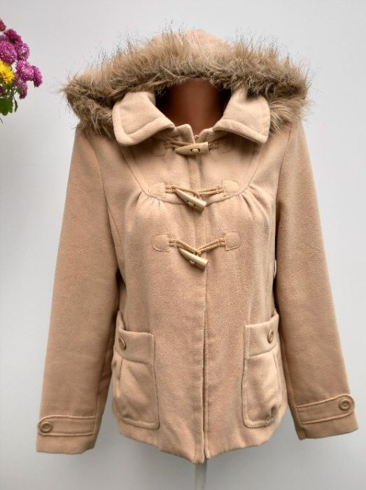 Пальто з капюшоном розмір М-L Вижница - изображение 1