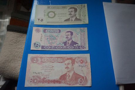 ZESTAW banknotów IRAK ,piękny stan