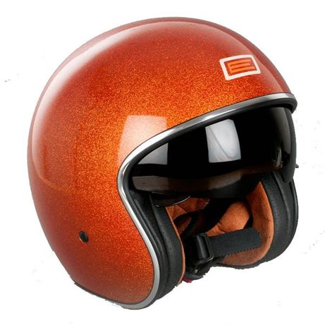 "Kask Origine ""E"" Vespa HD Chopper Cafe Racer L (lakier z brokatem)"