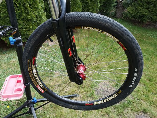 Koła mtb street dirt 24 single SS ns Sun rims 20mm 14t Sun rims