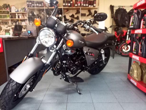 Motocykl KEEWAY SUPERLIGHT 125 limited rok 2020