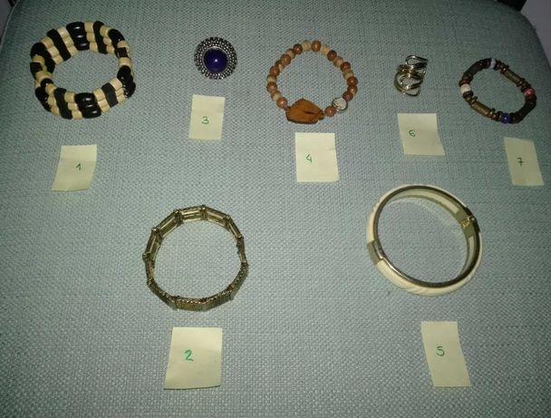 Bijuteria - Pulseiras e Anéis da Accessorize, Biju, Parfois