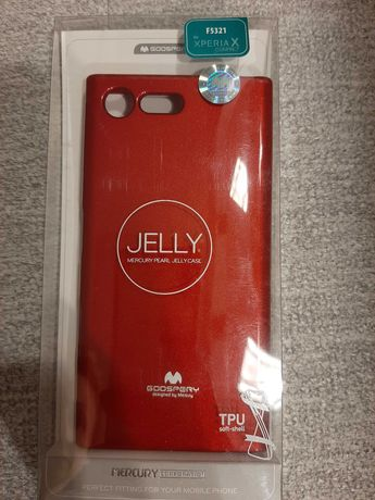Etui Sony Xperia X compact jelly case soft-shell