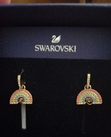 Brincos Arco-iris Swarovski