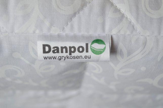 2-stronny materac medyczny do łóżeczka gryka - kokos 120x60 cm Danpol