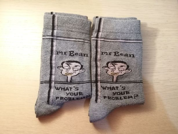 2 Pares Meias - Mr. Bean