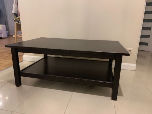 Stolik kawowy Ikea Hemnes czarnybrąz