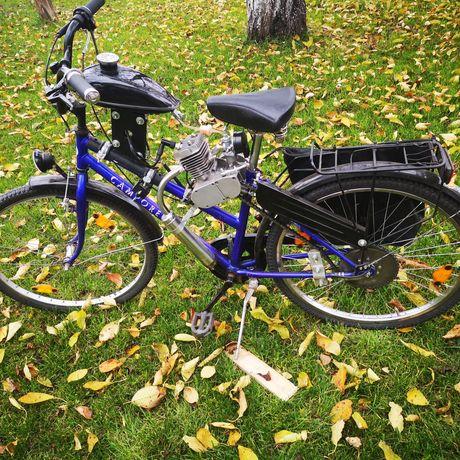 Rower spalinowy nowy silnik!