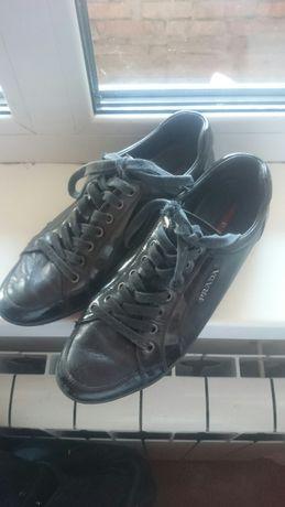 Кроссовки туфли кеды PRADA