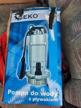 Pompa wody ze szlaufem