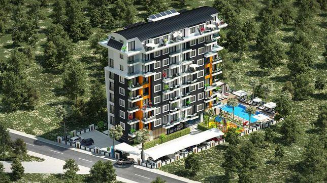 Продаж квартири з виглядом на море м. Аланія, Туреччина