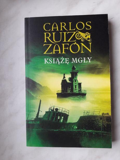 Książka Carlos Ruiz Zafon Książę mgły