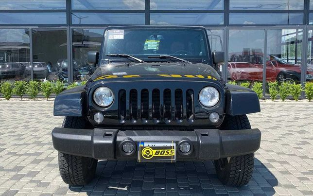 Jeep Wrangler 2012