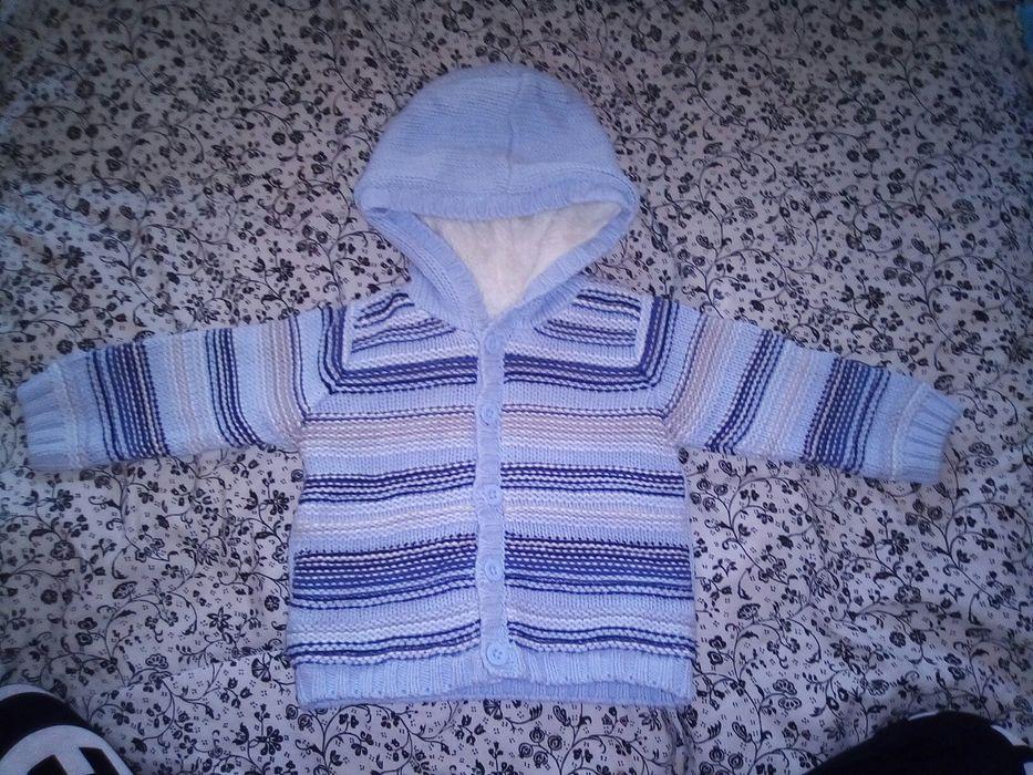 Bluza z futerkiem r.68 Szczytno - image 1