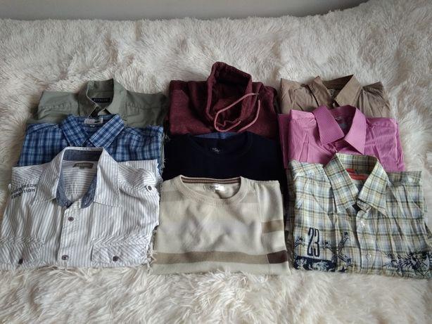 MEGA PAKA koszule, sweter top secret, bluza tshirty rozm.L