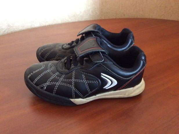 Кожаные туфли кроссовки для мальчика Clarks 26 р-р
