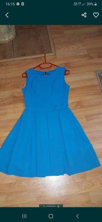 sukienka nowa niebieska