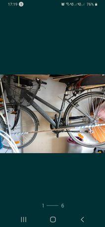Jak nowy! Aluminiowy rower trekkingowy niemiecki