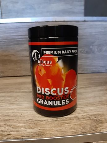Premium Daily Food, DISCUS RED BOOSTER GRANULES, super soft, 400ml