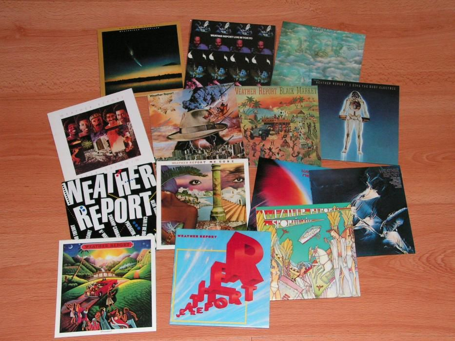 Weather Report 14 titles Sony Mastersound 20-bit/SBM mini LP Japan