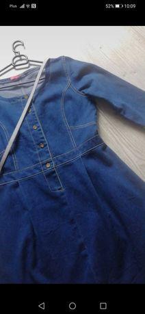 Sukienka jeansowa L