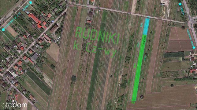Działka rolno-budowlana Rudniki k.Cz-wy 21zł/m2