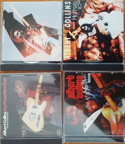 "Albert Collins blues rock lote cds ""live at montreux"" + 3"