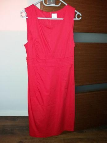 Sukienka czerwona Camaieu 38 M