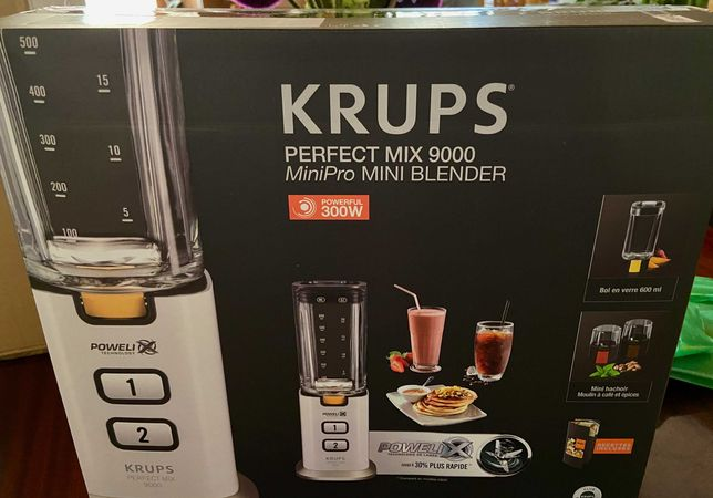 Liquidificadora KRUPS Perfect Mix 9000 - NOVA com garantia
