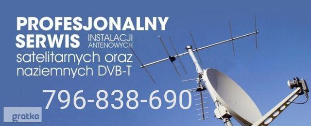 Antena satelitarna dvbs2 hd