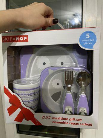 Набір посуду Skip-Hop фіолетова совушка